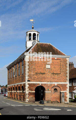 The Old Market Hall, Old Amersham, Buckinghamshire, England, UK. - Stock Image