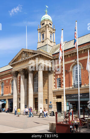 Peterborough Town Hall Bridge St Peterborough  Cambridgeshire England uk gb Europe - Stock Image