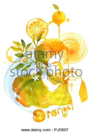 smell series senses - Stock Image