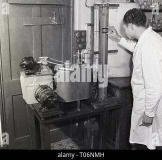 1950s, food research? - Stock Image