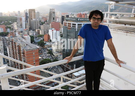 Marcos Kirschstein. Photo taken from Centro Comercial El Recreo in the Sabana Grande Area, Caracas Venezuela. Vicente Quintero - Stock Image