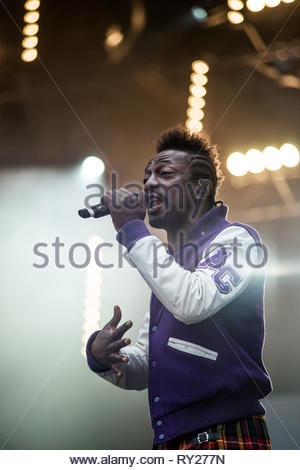 FFF performing live, 12 july 2014 - Stock Image