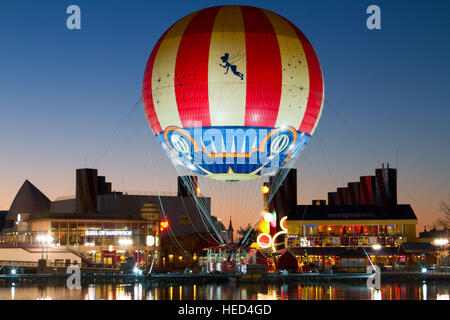 Disney Village Marne La Vallee France - Stock Image
