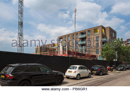 Greenwich Millennium Village Phase 3 construction - Stock Image