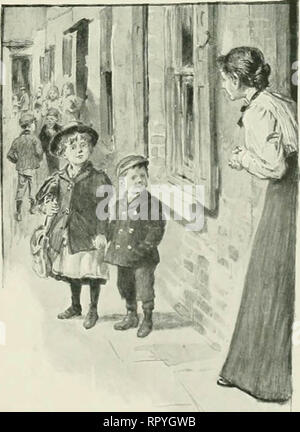 'Living London; its work and its play, its humour and and its pathos, its sights and its scenes;' (1902) - Stock Image