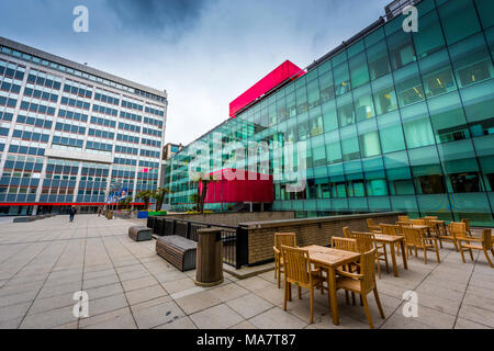 campus; buildings; imperial college; london; england; uk, energy futures lab; - Stock Image