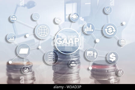 Generally Accepted Accounting Principles National Government law Business Finance Regulation - Stock Image