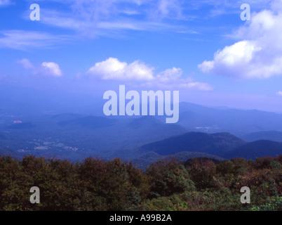 North Georgia Mouintains - Stock Image