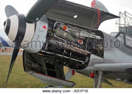 Zeltweg 2005 AirPower 05 airshow Austria, German Luftwaffe Messerschmitt Me 109 G 4 - Stock Image