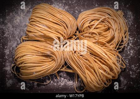 Italy Liguria Battoli  with Chestnut flour - Stock Image