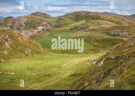 Ireland countruside at West Cork - Stock Image