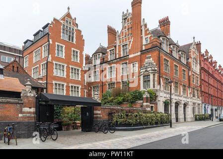 The Chiltern Firehouse hotel and restaurant, Chiltern Street, Marylebone, London, England, UK - Stock Image