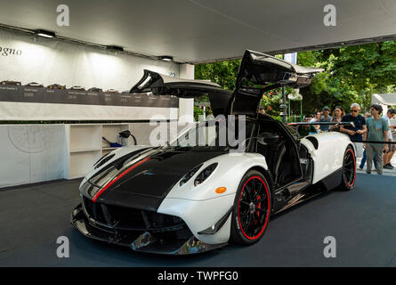 Turin, Piedmont, Italy. 22nd June 2019. Italy Piedmont Turin Valentino park Auto Show 2019 - Credit: Realy Easy Star/Alamy Live News Credit: Realy Easy Star/Alamy Live News - Stock Image