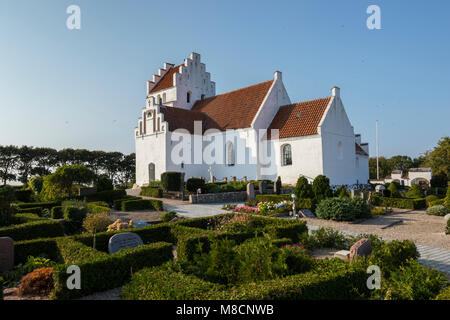 Sejerø church in Sejerby - Stock Image