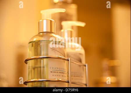 soap dispenser Home Décor Macro - Stock Image