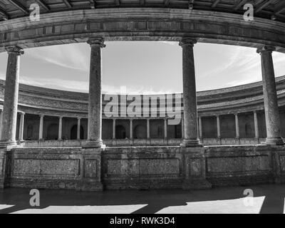 The Alhambra; Granada, Spain - Stock Image