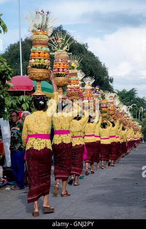 Peed Ritual in Ubud Bali - Stock Image