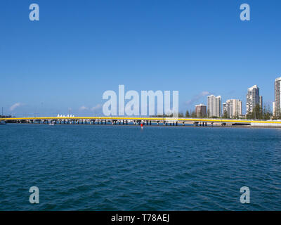 Sundale Bridge On The Gold Coast - Stock Image