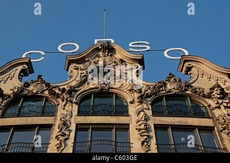 Corso Art Deco Building Zurich Switzerland - Stock Image