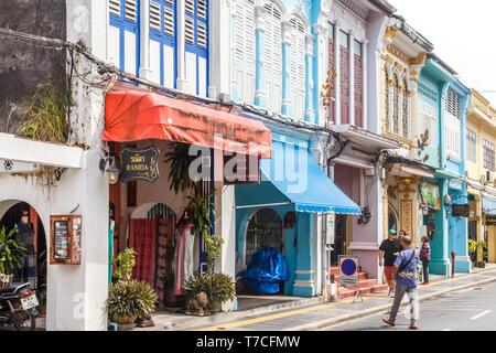 Phuket, Thailand - 27th November 2017: - Stock Image