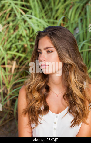 Serious teenager - Stock Image