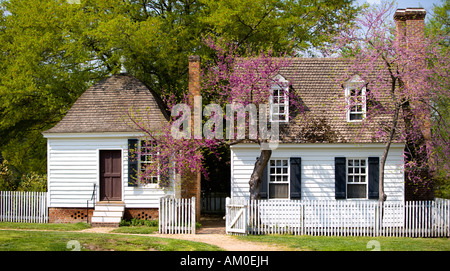 Colonial Williamsburg House - Stock Image