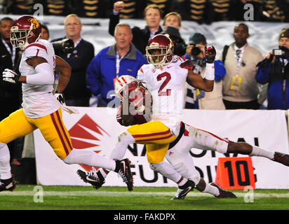December 19, 2015. Adoree' Jackson #2 of USC in action during the 2015 National Education Holiday Bowl between - Stock Image