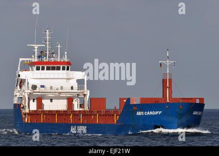 Abis Cardiff inbound Kiel Fjord - Stock Image