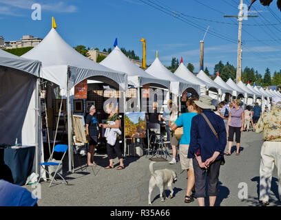 Harmony Arts Festival in West Vancouver, British Columbia, Canada. - Stock Image