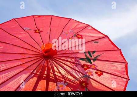 USA, Arizona, Phoenix. Close-up of Chinese parasol. Credit as: Wendy Kaveney / Jaynes Gallery / DanitaDelimont.com - Stock Image