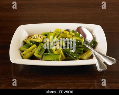 Asian cucumbers - Stock Image