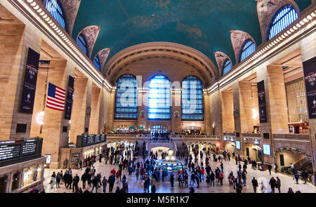 Grand Central main concourse - Stock Image