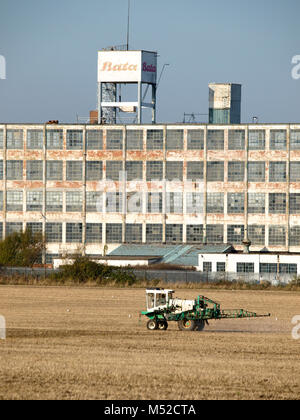 The Bata Shoe Factory in Tilbury built in 1932 - Stock Image