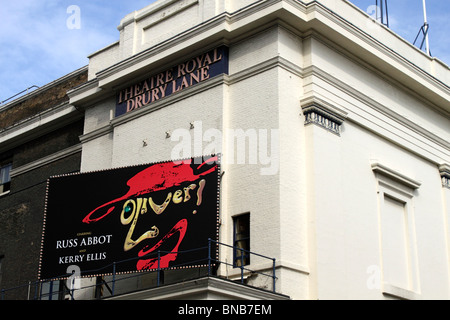 Oliver showing at the Theatre Royal Drury Lane London July 2010 - Stock Image
