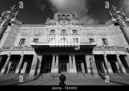 Exterior of the Royal Drama Theatre, Strandvagern area of Stockholm City, Sweden, Europe - Stock Image
