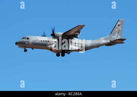 EADS CASA (Airbus) C-295M light tactical transport plane of the Polish Air Force - Stock Image