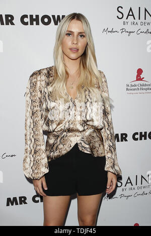 June 12, 2019 - Beverly Hills, CA, USA - LOS ANGELES - JUN 4:  Claire Holt at the SAINT Modern Prayer Candles For A Cause Launch at the Mr. Chow on June 4, 2019 in Beverly Hills, CA (Credit Image: © Kay Blake/ZUMA Wire) - Stock Image