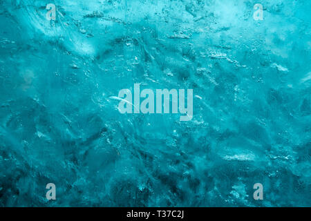 Background, close up image of an ice wall - Stock Image