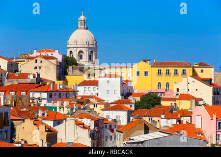 Alfama District, Lisbon, Portugal, - Stock Image