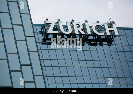 The headquarters of Zurich North America in Schaumburg, Illinois. - Stock Image