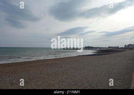 Hastings Pier, Hastings, East Sussex - Stock Image