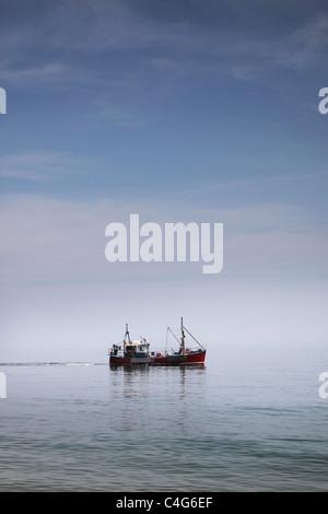 fishing boat - Stock Image