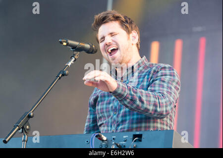 Portsmouth, Hampshire, UK. 23rd August, 2014. Victorious Festival - Saturday, Southsea, Hampshire, England. Scouting - Stock Image