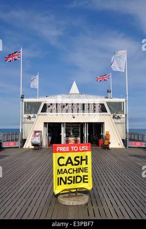 Paignton Pier, Torbay, Devon, England, UK - Stock Image