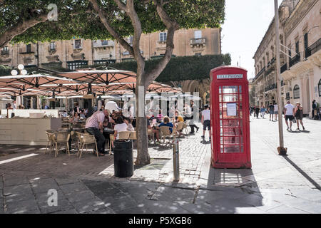 Panoramic view to vittoriosa - Stock Image