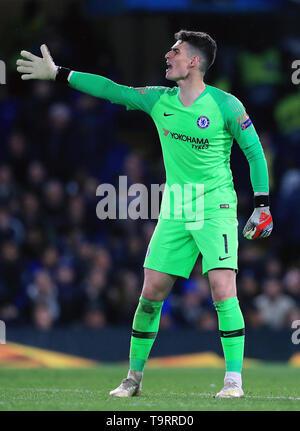 Chelsea goalkeeper Kepa Arrizabalaga - Stock Image
