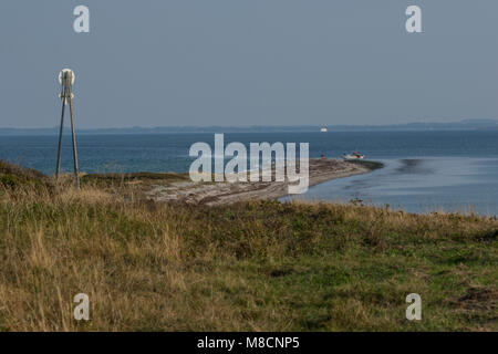 The reef at the southern tip of Sejerø - Stock Image