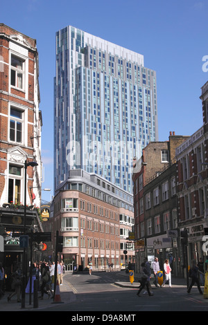 Nido student accomodation block Spitalfields London - Stock Image