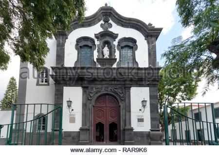Igreja de Socorro - Funchal, Madeira, Portugal, Europe - Stock Image