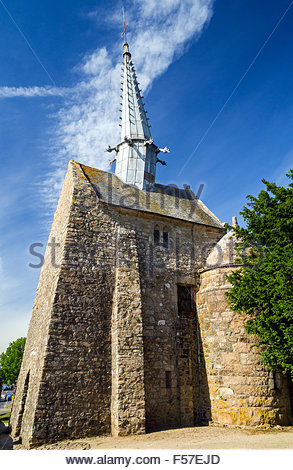 Plougrescant - Saint Gonery Chapel - Brittany - France - Stock Image